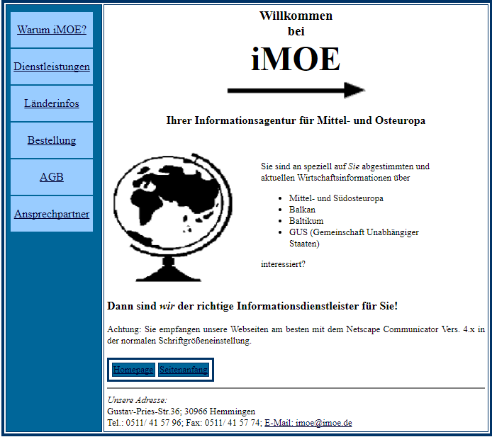 imoe was founded 1998