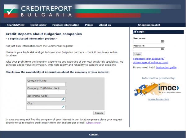 imoe 2010 - Firmendatenbank Bulgarien